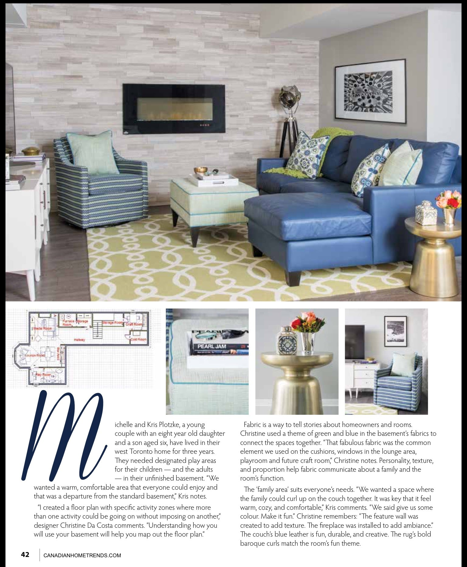 CHT feature pg 2 Decor by Christine