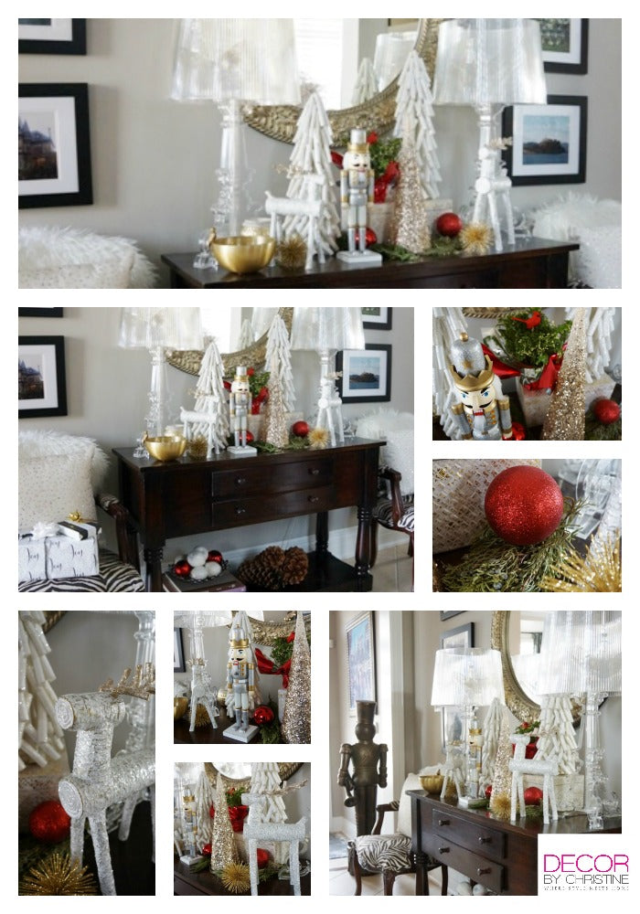Decor by Christine LoweHolidayHomes foyer table