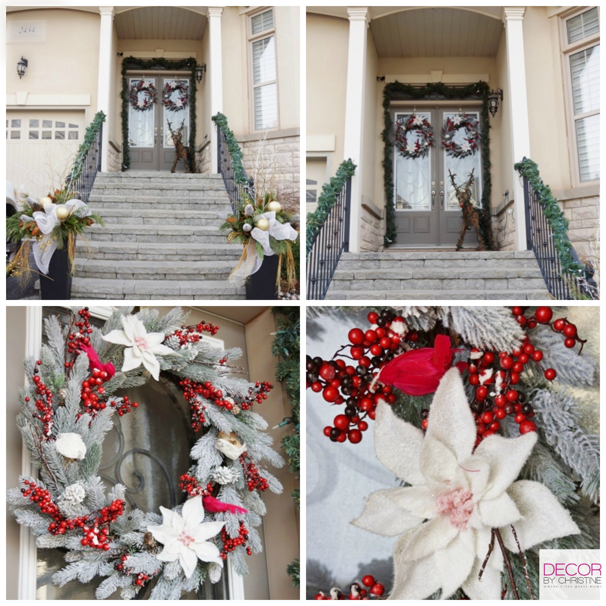 Decor by Christine LowesHolidayHomes front door to foyer