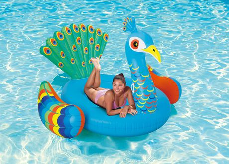 Peacock floatie