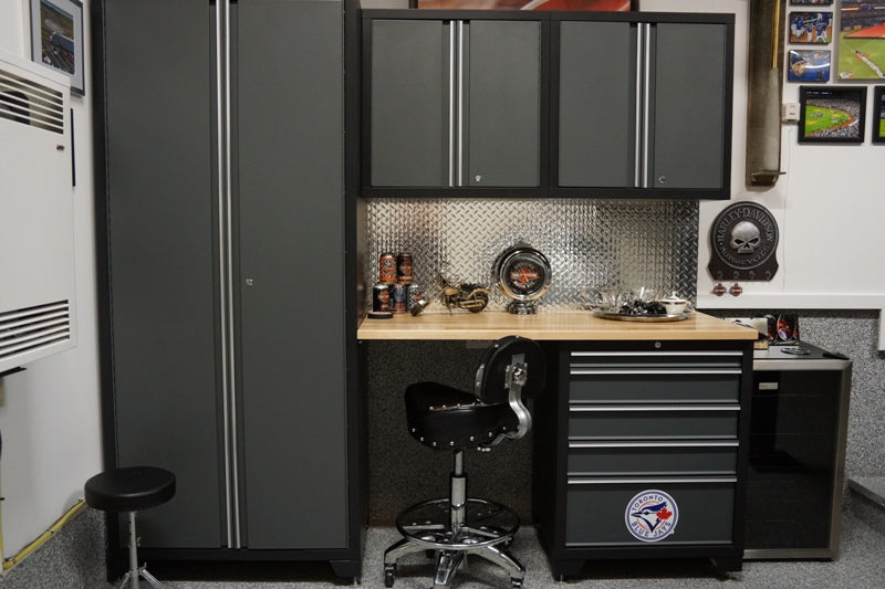 ORC Cabinetry mancave garage - Decor by Christine