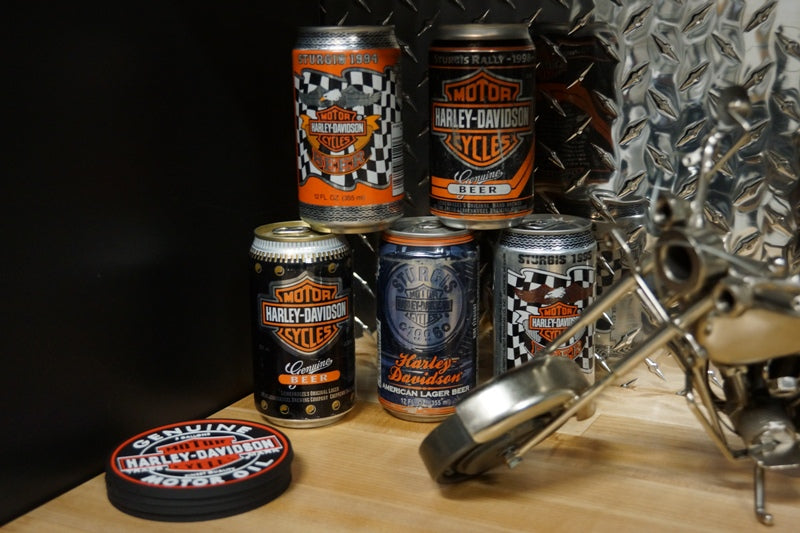 ORC vintage HD beer cans - Decor by Christine