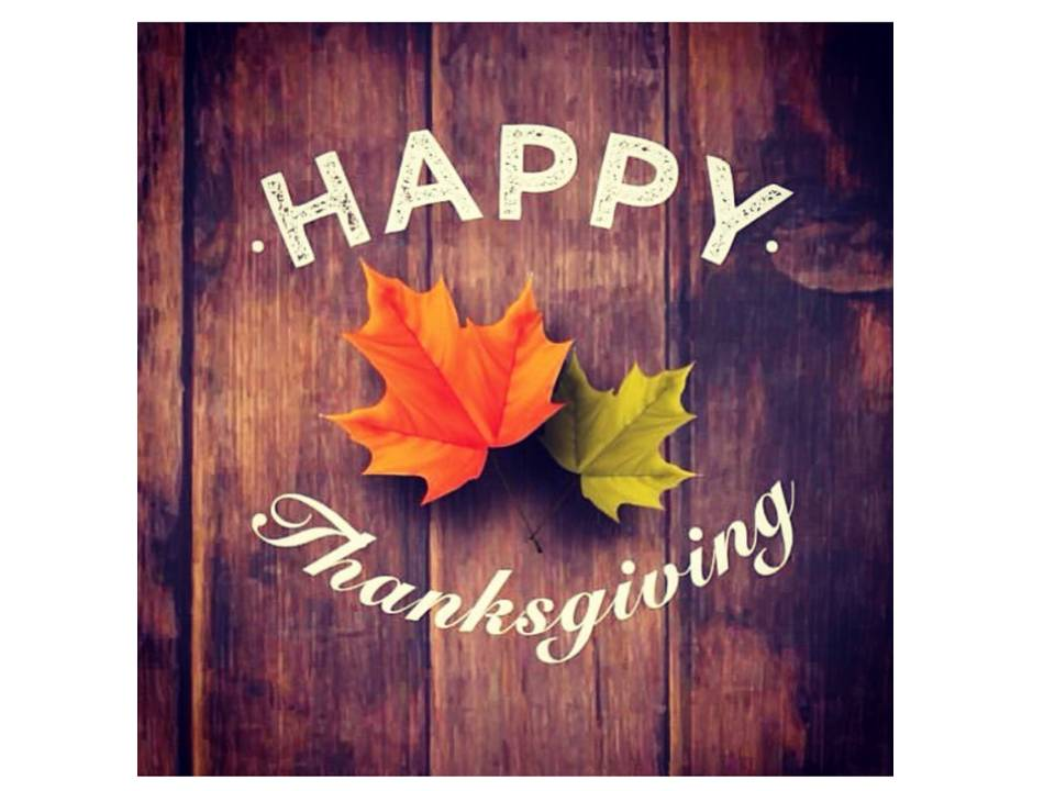 happy thanksgiving from decor by Christine