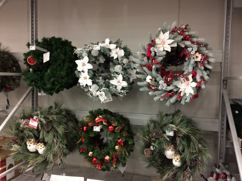 wreaths at lowes