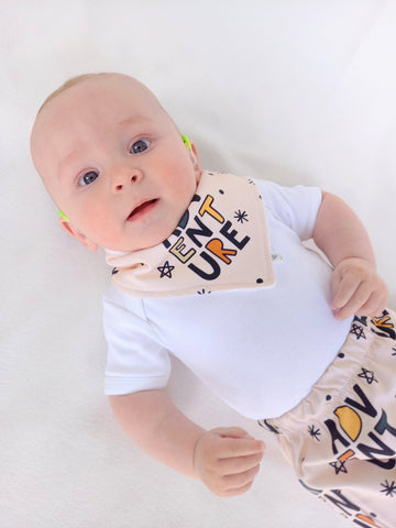 Adventure Dribble Bib - Bamboo Lined