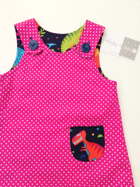 Dinosaur Reversible Dress
