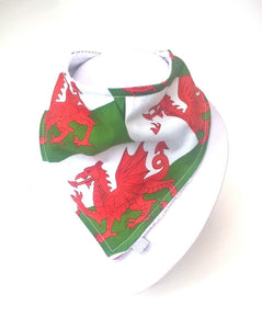 Wales dragon Print Dribble Bib, Eisteddfod, six nations rugby