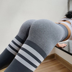 Striped Fitness Leggings