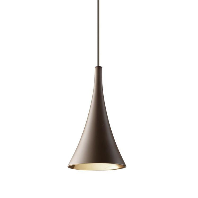 Croxley Brown and Copper Single Pendant - ID 7552