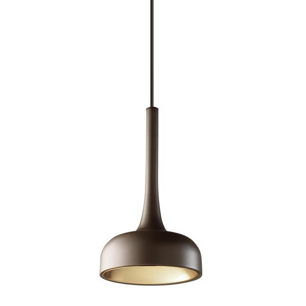 Croxley Brown and Copper Single Pendant - ID 7551