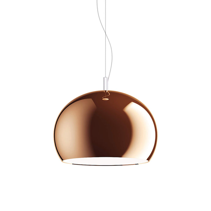 Guzzini Zurigo 1966 Small Pendant Lamp In Copper - ID 8572
