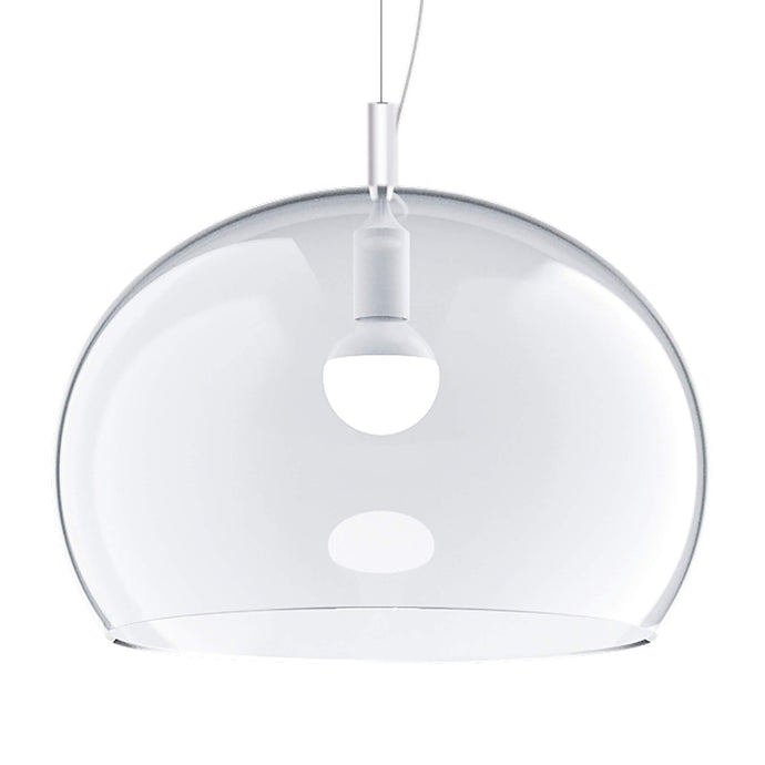 Guzzini Zurigo 1966 Large Pendant Lamp In Transparent Crystal - ID 8550