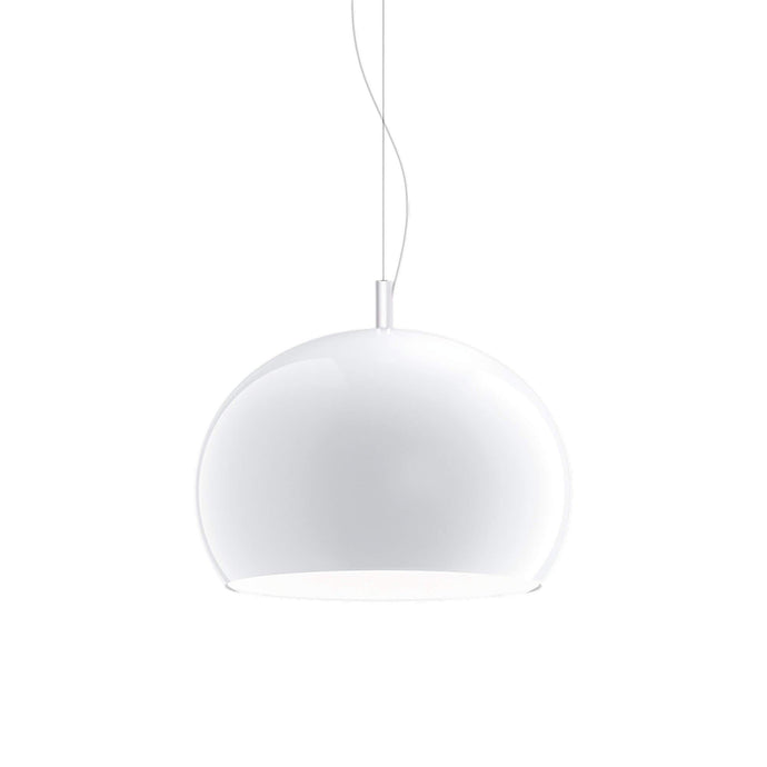 Guzzini Zurigo 1966 Large Pendant Lamp In White - ID 8564