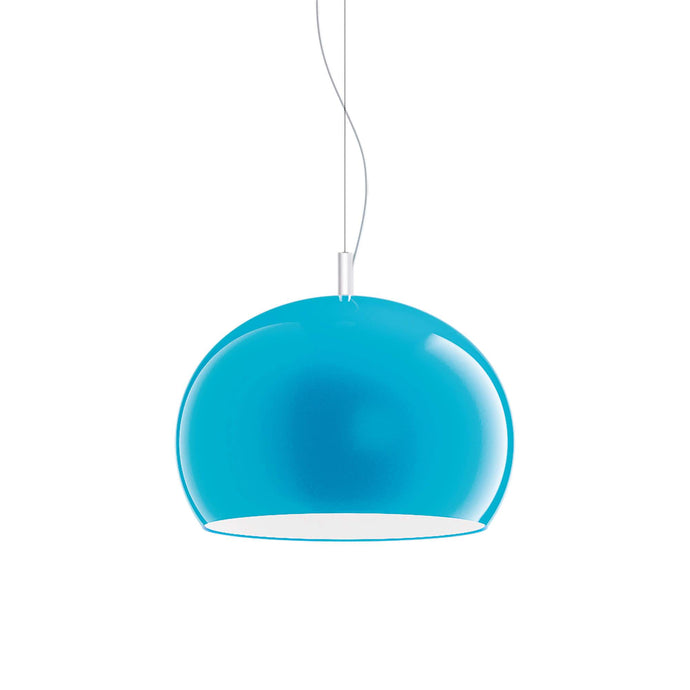 Guzzini Zurigo 1966 Large Pendant Lamp In Blue - ID 8567