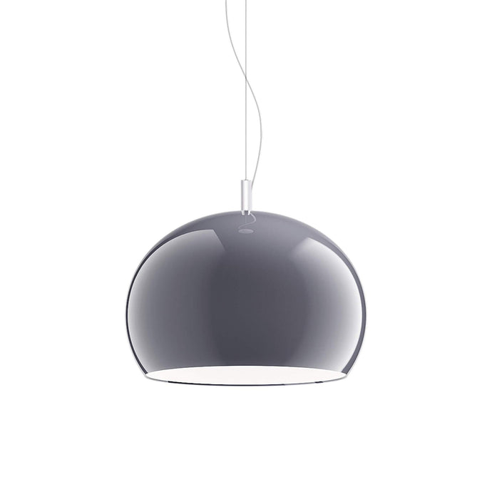 Guzzini Zurigo 1966 Small Pendant Lamp In Smoked - ID 8558