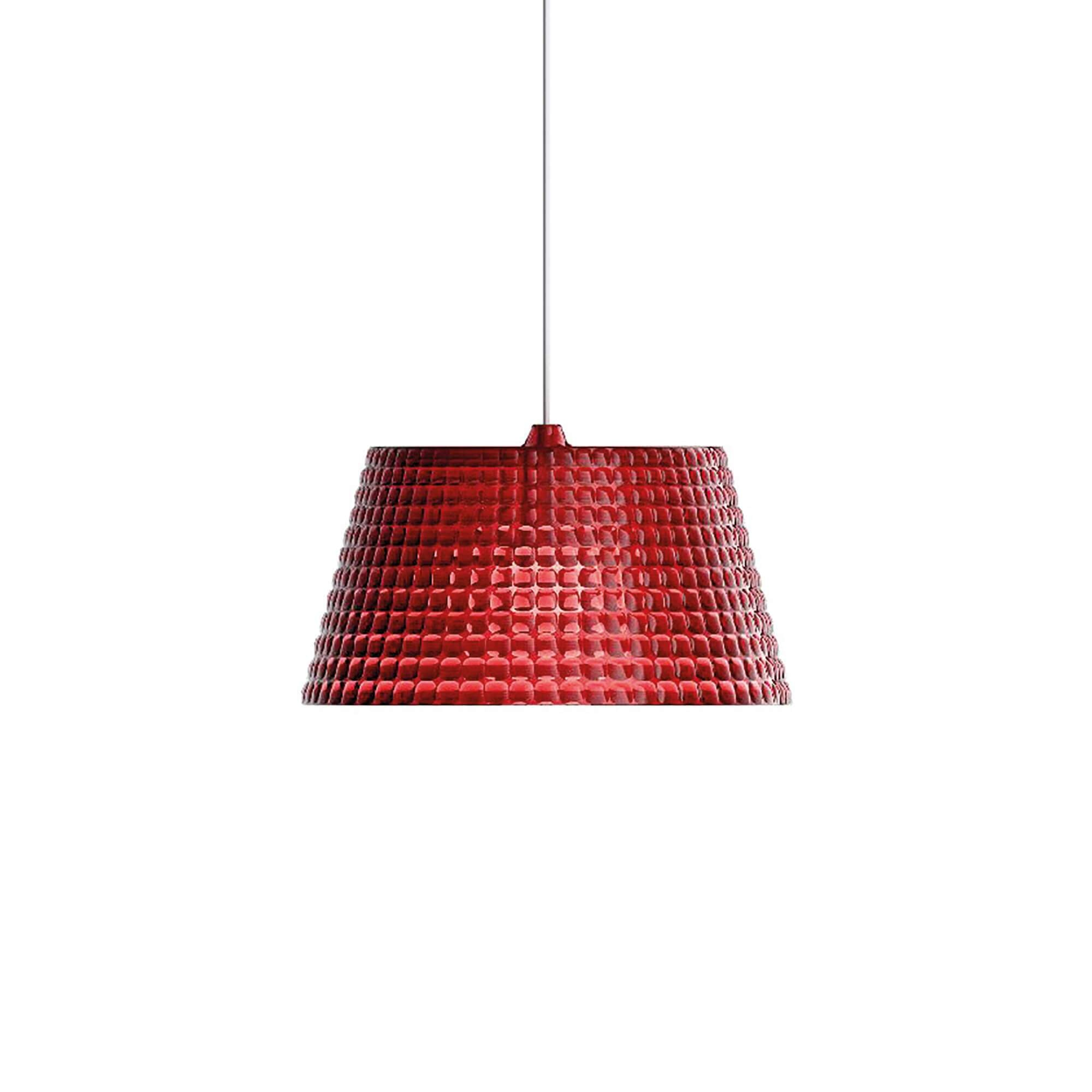 Guzzini Tiffany Large Pendant Lamp In Red - ID 8538