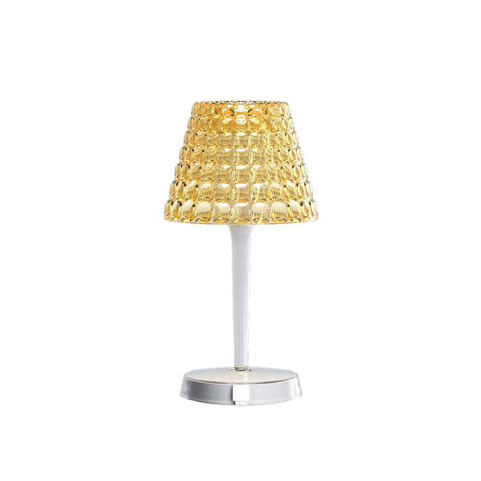Guzzini Tiffany Cordless Table Lamp In Amber - ID 8516