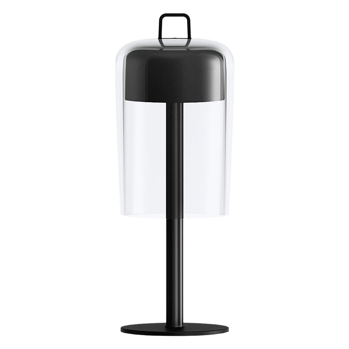 Guzzini Soiree Cordless Table Lamp In Black - ID 8502