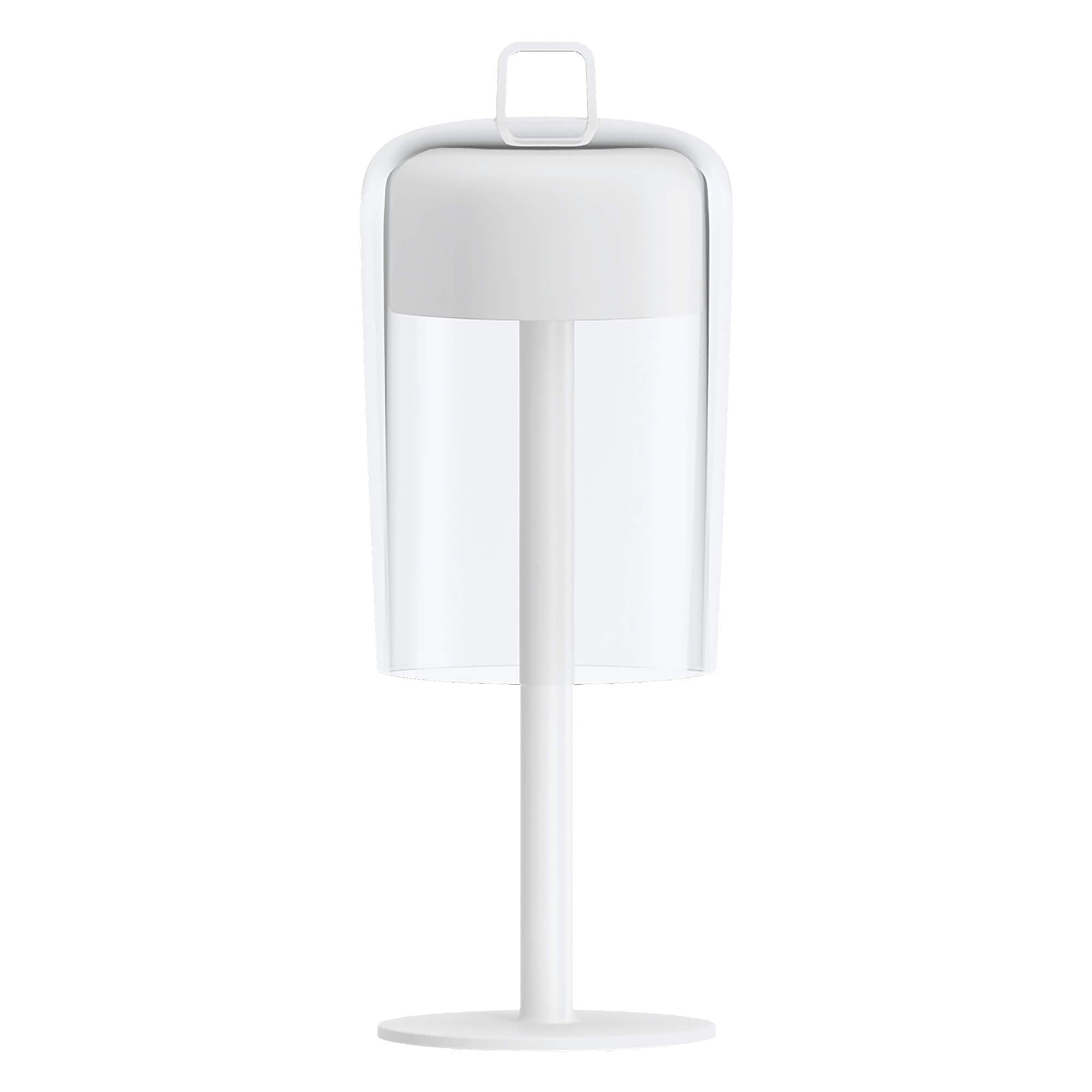 Guzzini Soiree Cordless Table Lamp In White - ID 8501