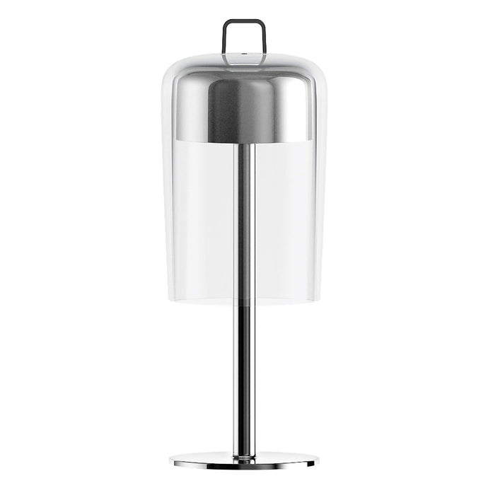 Guzzini Soiree Cordless Table Lamp In Chrome - ID 8507
