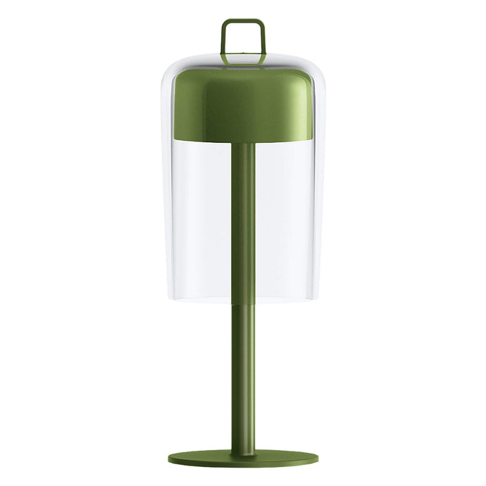Guzzini Soiree Cordless Table Lamp In Green - ID 8506
