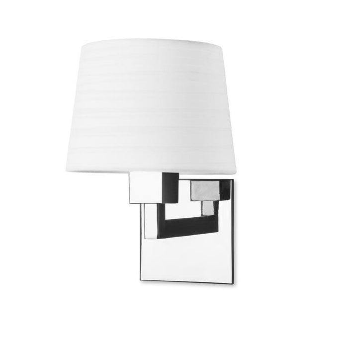 Bromley Contemporary Wall Light In Chrome - ID 7883