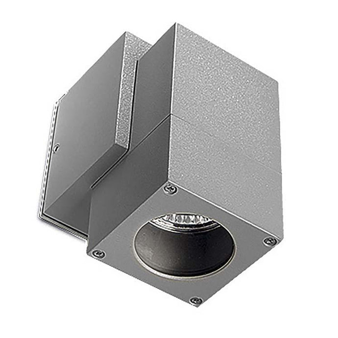 Carpenders Grey Exterior Single Wall Spotlight - ID 252