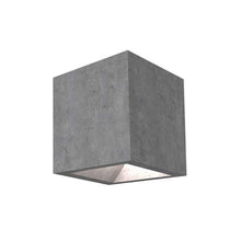 Cement Cube Outdoor Wall Light