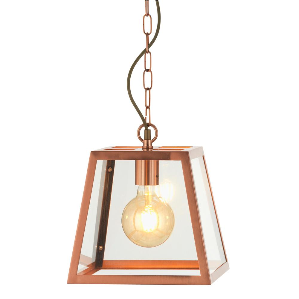 Auldearn Copper Single Pendant - ID 7662