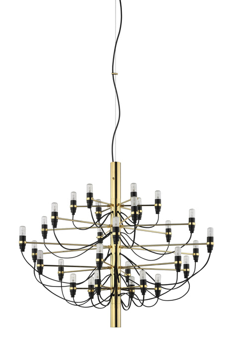 FLOS 2097/30 Suspension In Polished Brass With Clear LED Bulbs Included - 9891