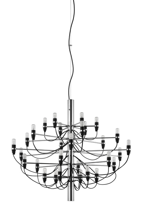 FLOS 2097/30 Suspension In Chrome With Clear LED Bulbs Included - ID 9890