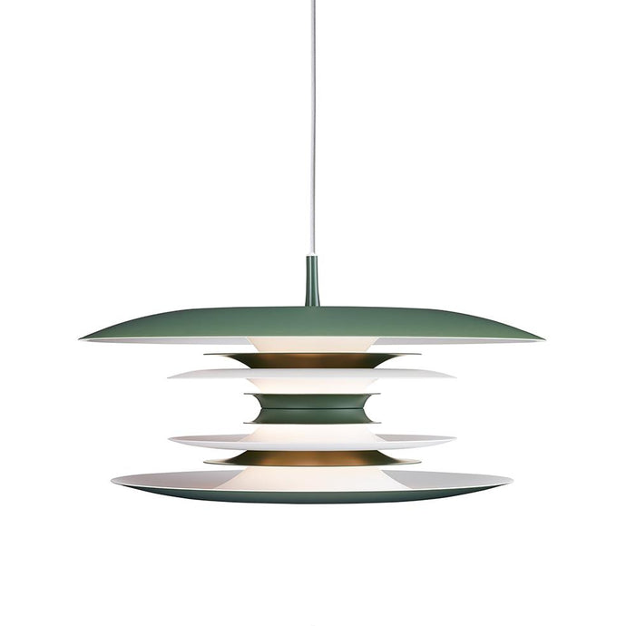Blod 50cm Skandi Pendant in Avocado Green - ID 9348