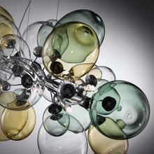 Ballon Bespoke Italian 8 Lamp Suspension with Blown Glass - Colour Options