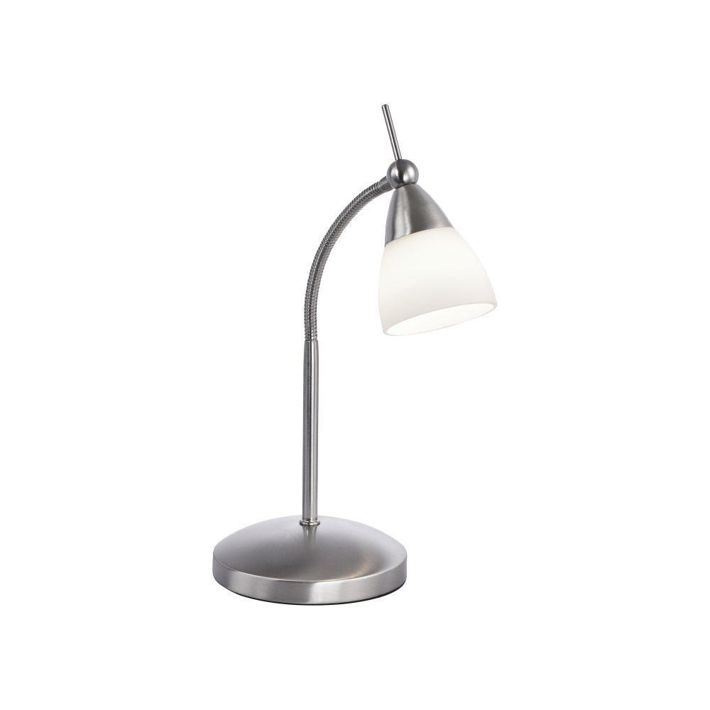 Flexible Touch Dimmable Table Lamp In Steel Finish - ID 6226