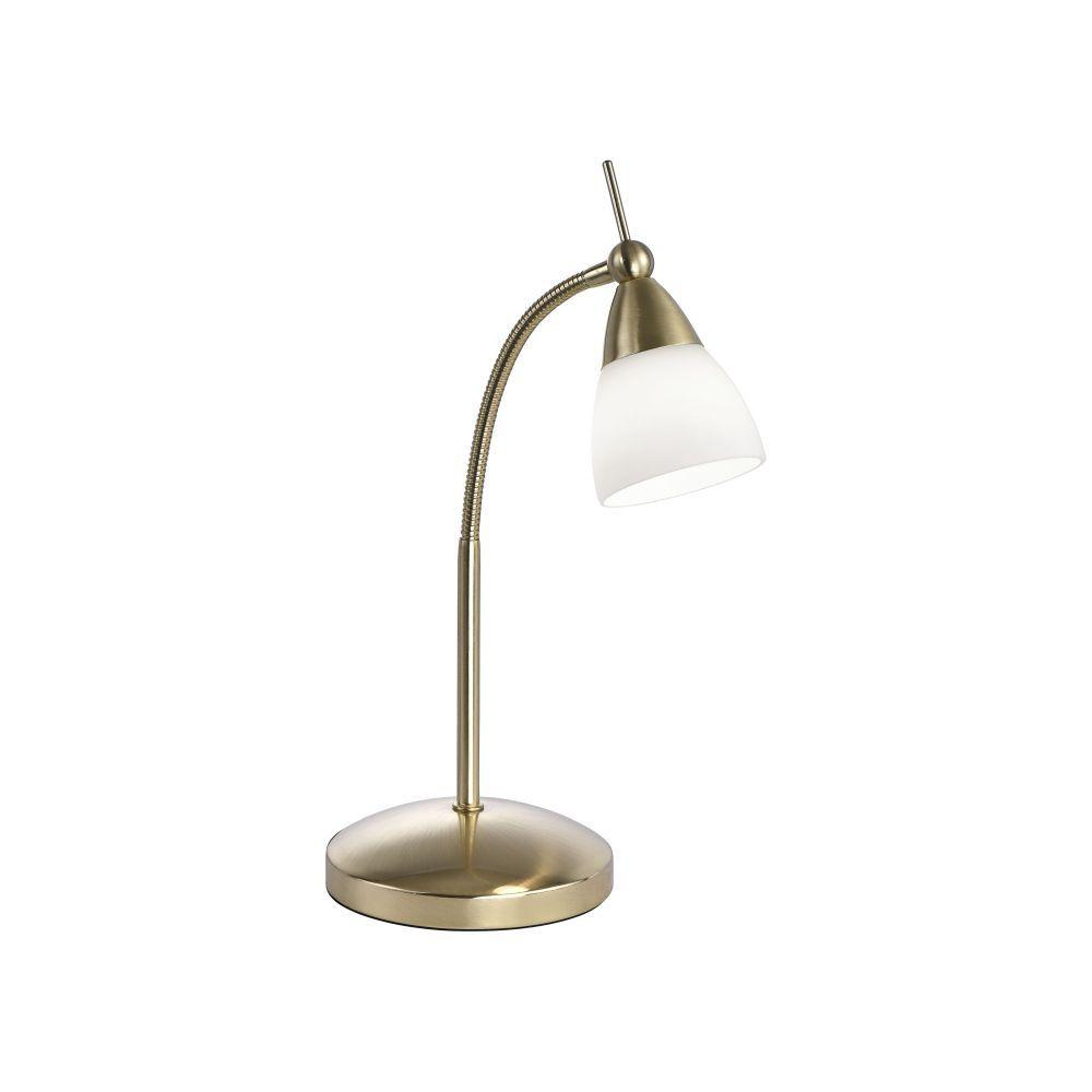 Flexible Touch Dimmable Table Lamp In Matt Brass Finish - ID 6225