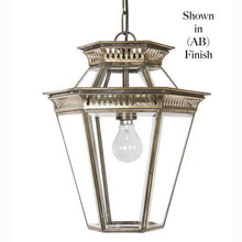 Classic Reproductions Bevelled Glass Georgian Hanging Lantern - London Lighting - 1