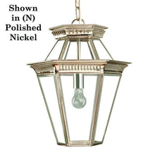 Classic Reproductions Bevelled Glass Georgian Hanging Lantern - London Lighting - 2