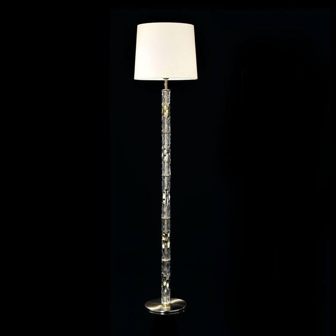 Bamboo Murano Glass Floor Lamp Height 198cm