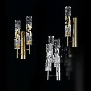 Becton Murano Glass Single Wall Light - ID 8071