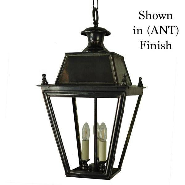 Classic Reproductions Balmoral Hanging Lantern (Large) w 3 Light cluster - London Lighting - 1