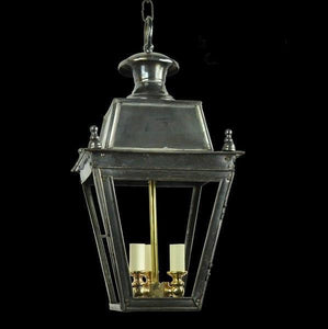 Classic Reproductions Balmoral Hanging Lantern (Small) with 3 Light cluster - London Lighting - 2
