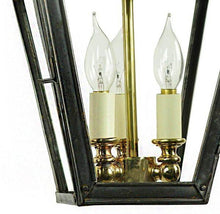 Classic Reproductions Balmoral Hanging Lantern (Small) with 3 Light cluster - London Lighting - 7