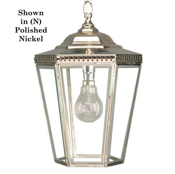 Classic Reproductions Chelsea Pendant (Small) - London Lighting - 1