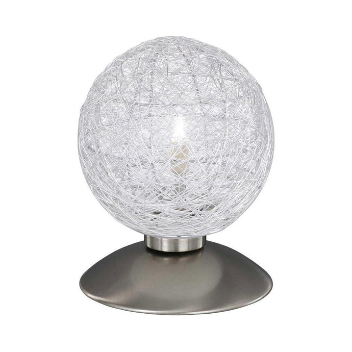 Aluminium Mesh Touch Dimmable Table Lamp - ID 8452