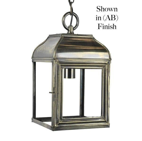 Classic Reproductions Hemingway Hanging Lantern (Small) - London Lighting - 1