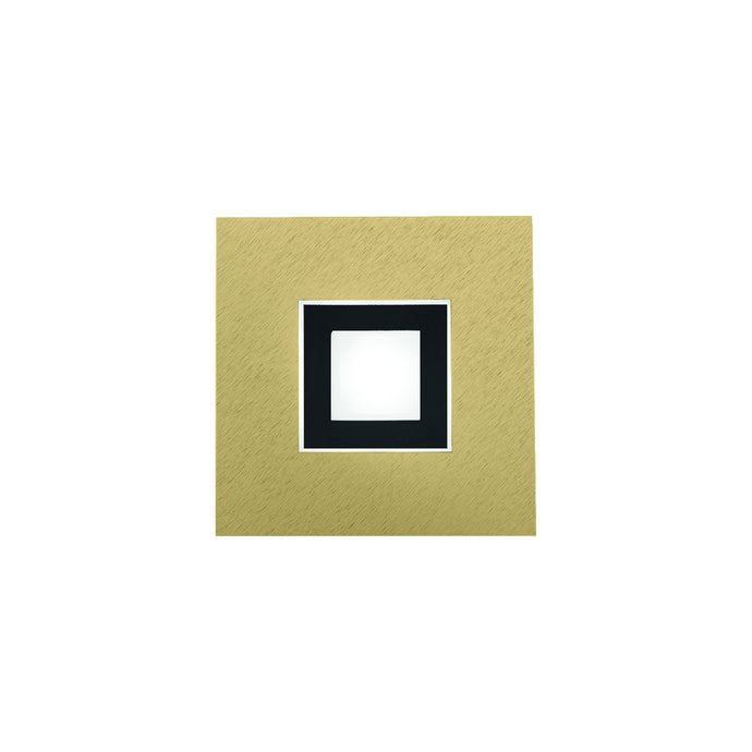 Grossmann Karree 51-783-446 Matt Brass With Black Matt Inner - ID 9726