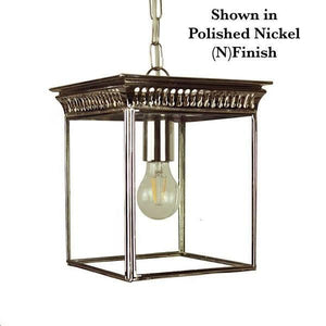 Classic Reproductions Belgravia Hanging Lantern (Small) - London Lighting - 2