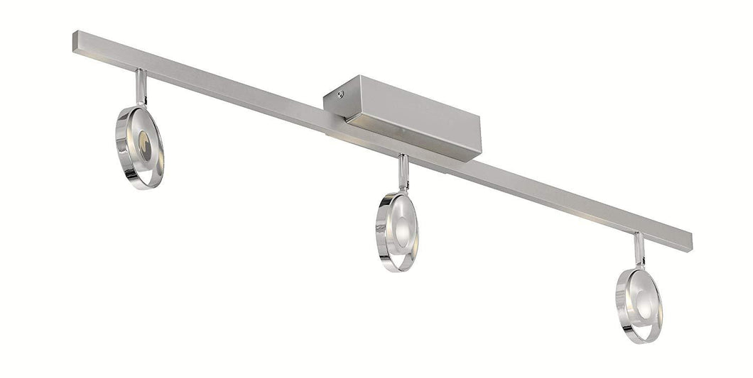 3 Lamp Adjustable Ceiling Light - ID 8488