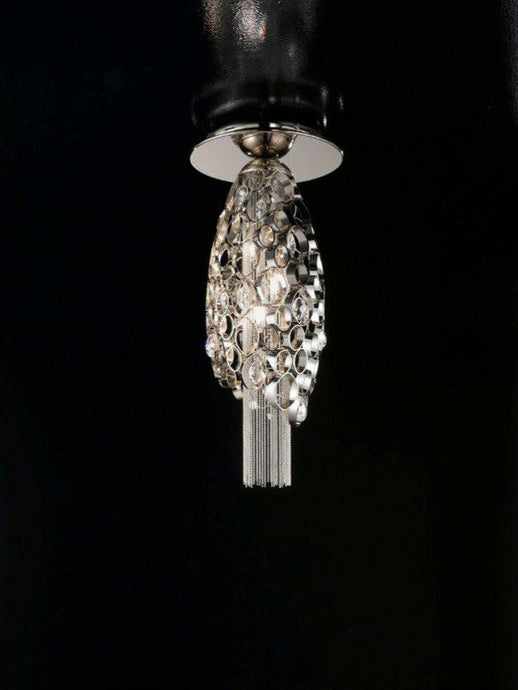 Chrysalis Small Ceiling Light with LED in Base