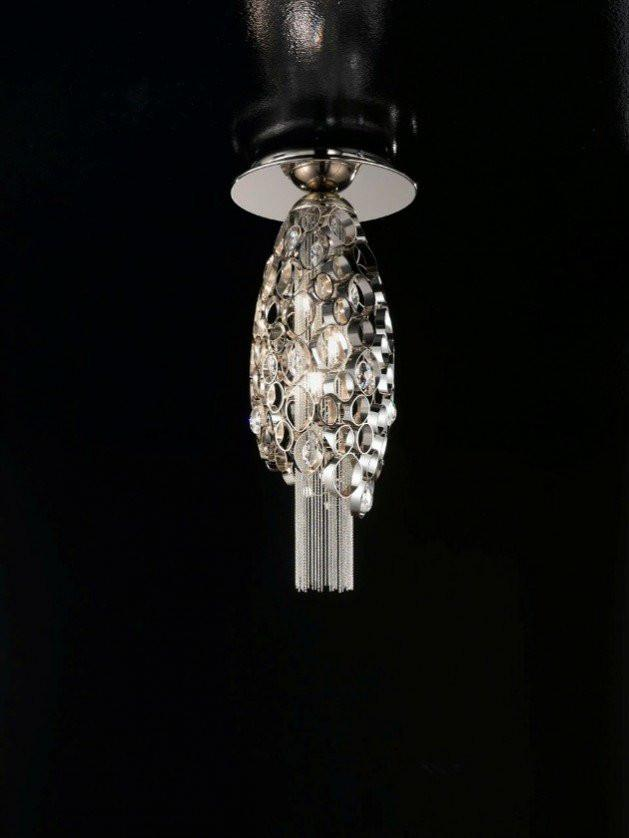 Chrysalis Large  Flush Ceiling Light